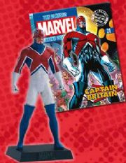 Classic Marvel Figurine Collection #021 Captain Britain Eaglemoss Publications